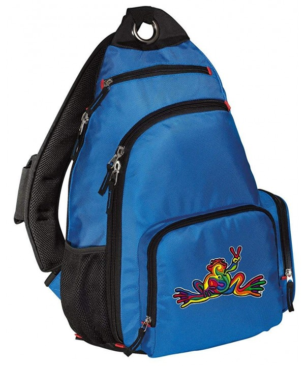 Peace Backpack COMFORTABLE Frogs Backpacks
