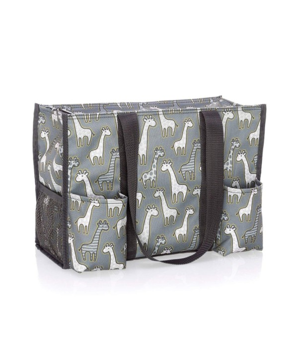 Thirty Zip Top Organizing Tote Giraffe