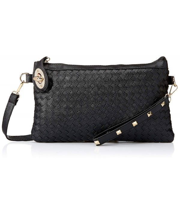 Ladies Studded Quilted Evening Handbag