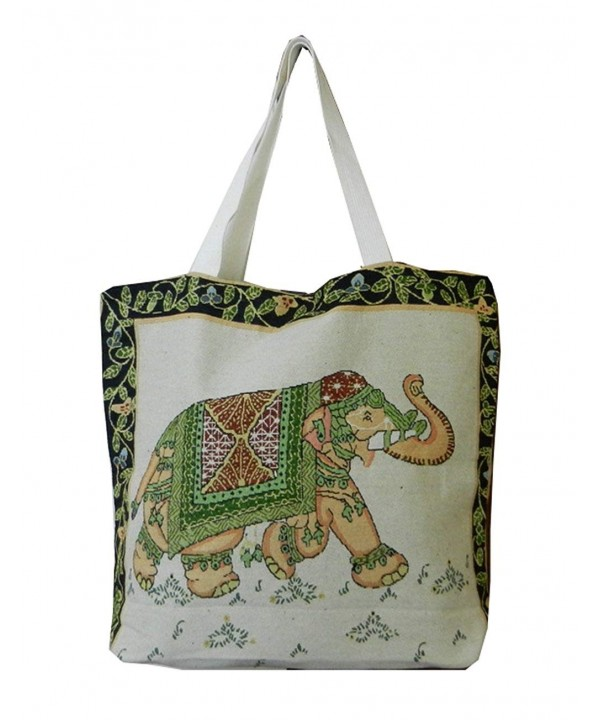 Ethnic Elephant Simplicity Handbag Canvas x