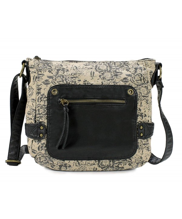 Scarleton Trendy Fabric Crossbody H191101