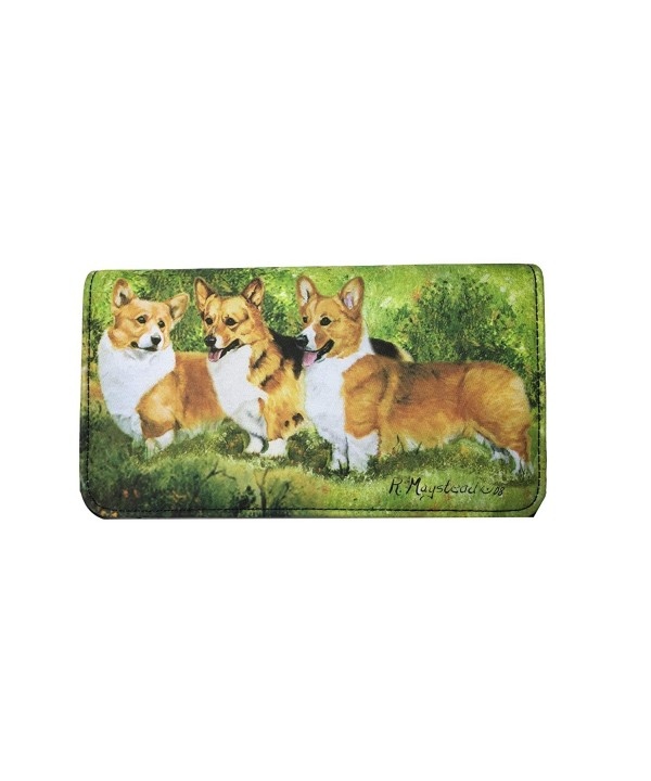 Welsh Corgi Dog Ladies Wallet