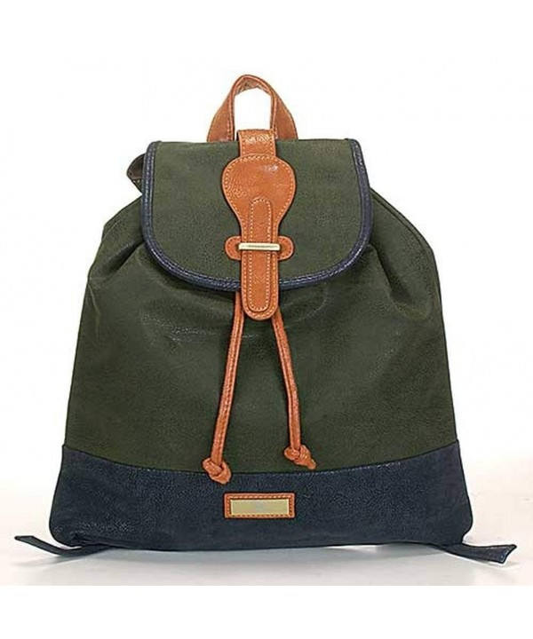 Aryana Closure Handle Adjustable Backpack