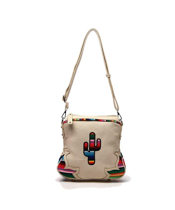 Western Handbag Multi Colored Concealed Crossbody