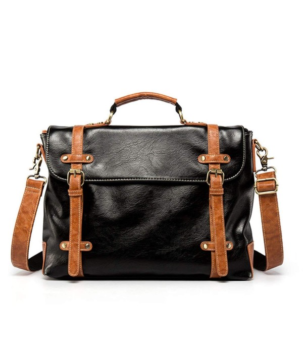 Arakan Leather Messenger Satchel Bag