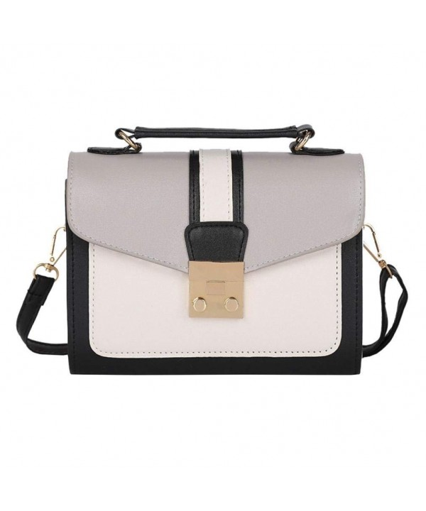 JESFFER Shoulder Messenger Satchel Crossbody