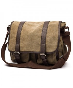 Small military canvas shoulder messenger