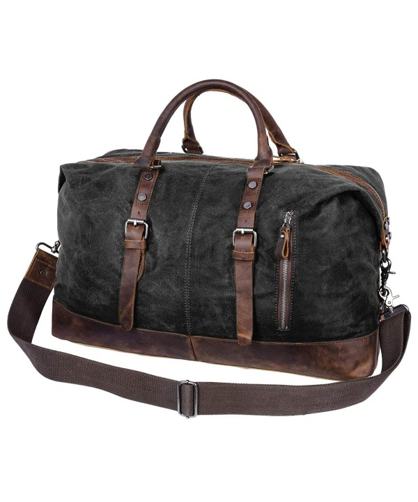 Veckle Genuine Leather Weekender Crossbody