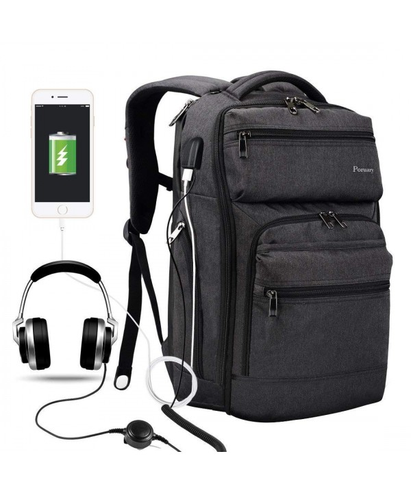 Backpack Charging Headphone Waterproof Resisting
