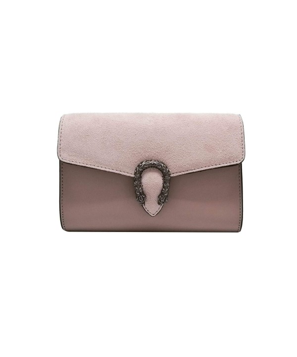 CLUTCH Italian Baugette clutch leather