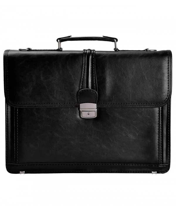 ZLYC Messenger Shoulder Business Briefcase