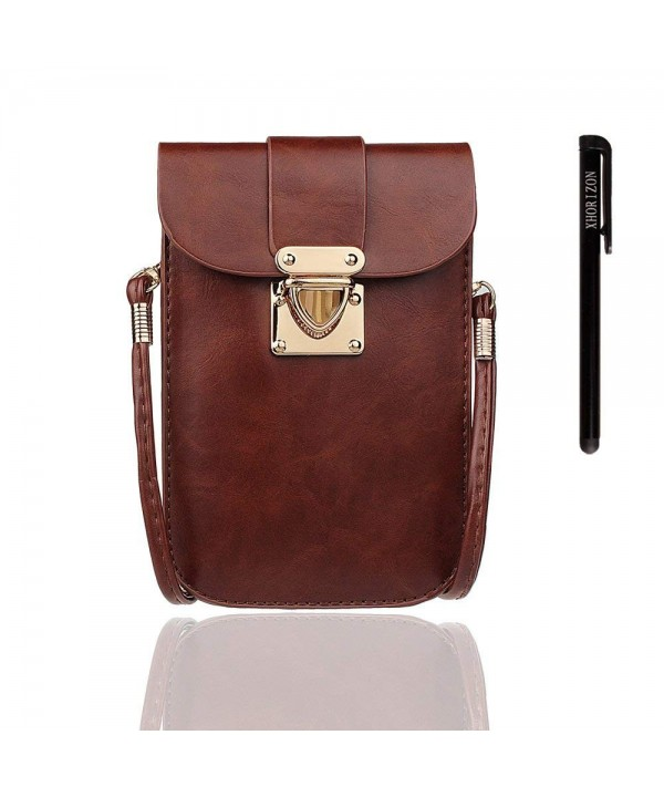 xhorizon Leather Crossbody Shoulder Cellphone