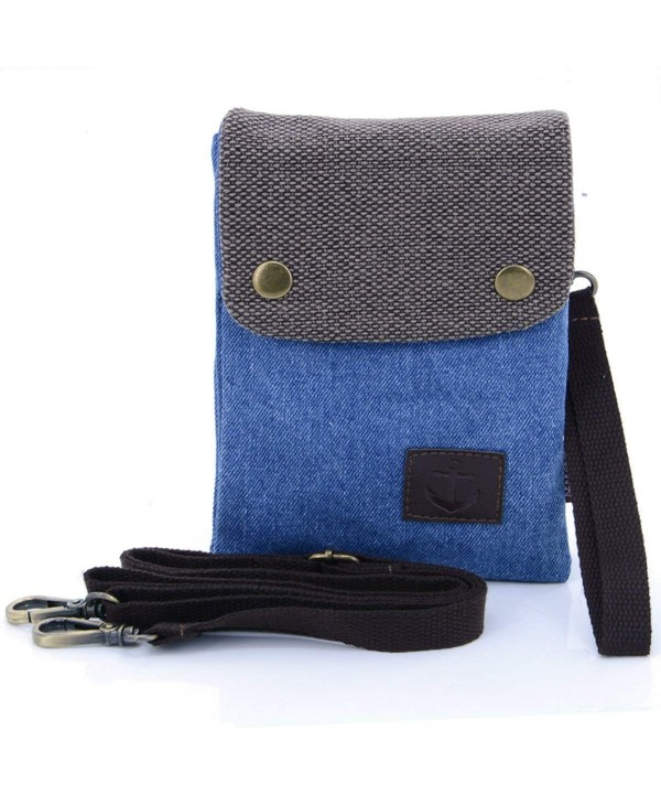 Premium Pocket Canvas Crossbody Cellphone