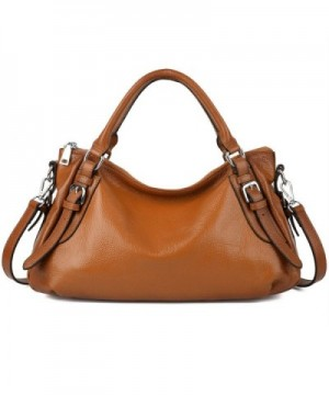 YALUXE Womens Leather Handbag Upgraded