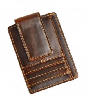 Leaokuu Genuine Leather Magnetic Pocket