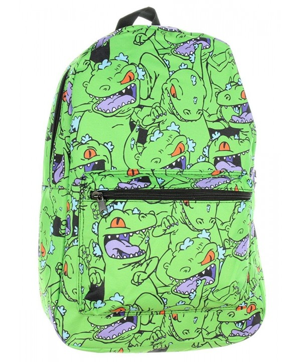 Nickelodeon Cartoon Rugrats Reptar Backpack