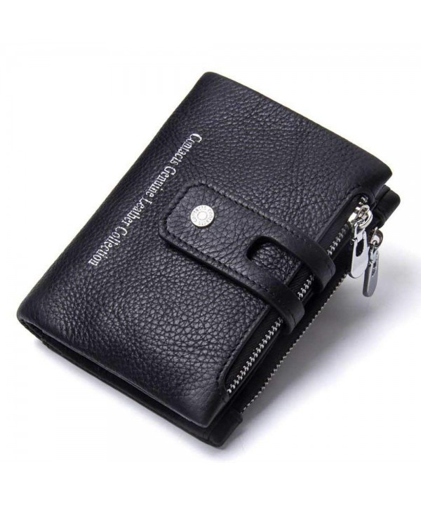 Showtime Vintage Leather Wallets Zippers