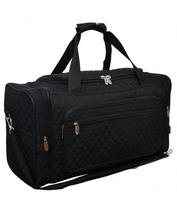 Solid NGIL Quilted Shoulder Duffle