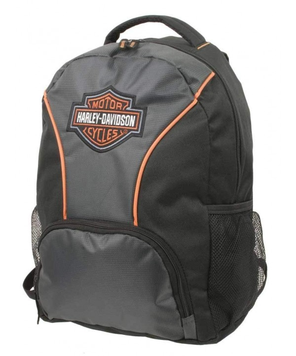 Harley Davidson Embroidered Colorblocked Backpack 7180609