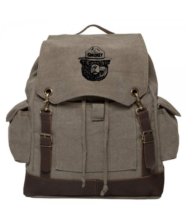 Grab Smile Vintage Rucksack Backpack