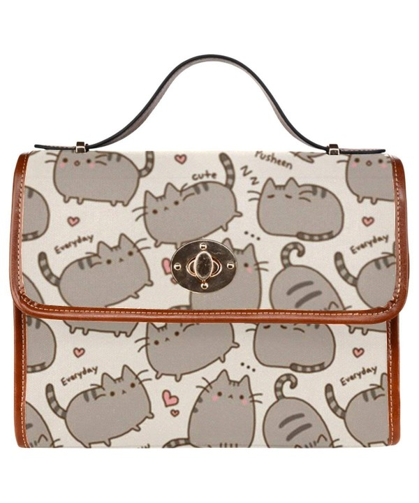 InterestPrint Waterproof Shoulder Messenger Crossbody
