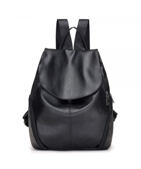 Classic Fashion Leather Backpack Shoulder