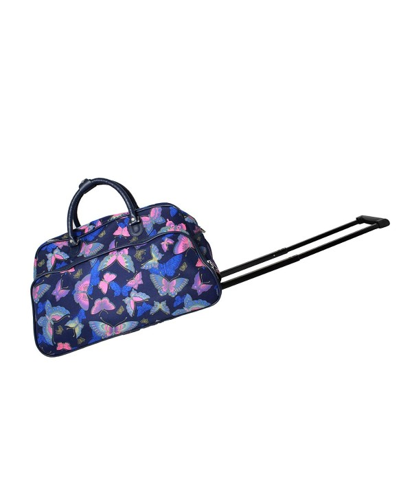 World Traveler 21 Inch Rolling Butterfly