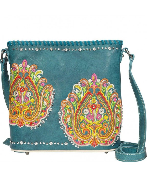 MW363 8287 Montana West Embroidered Collection
