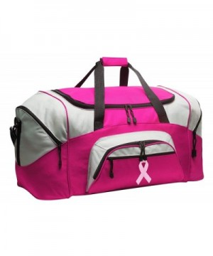 Pink Ribbon Duffel Ladies Bags