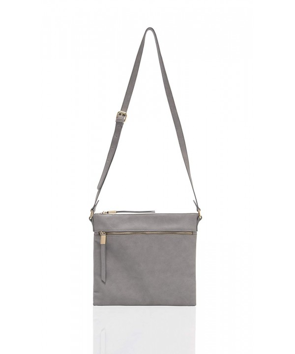 Shiraleah Olivia Cross Body Daypack Grey