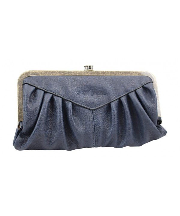Simply Noelle Bustle Wallet Navy