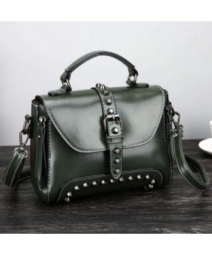 LtrottedJ Leather Shoulder Corssbody Handbag