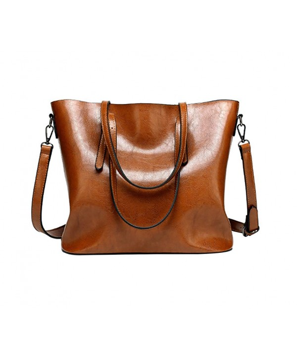 Voghtic Satchel Vintage Shoulder Capacity