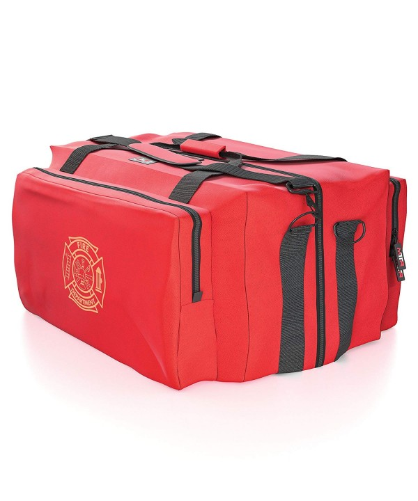Firefighter Fire Gear Bag Step