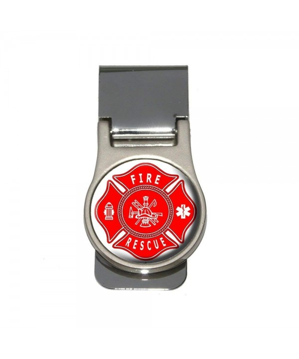 Fire Rescue Maltese Cross Money