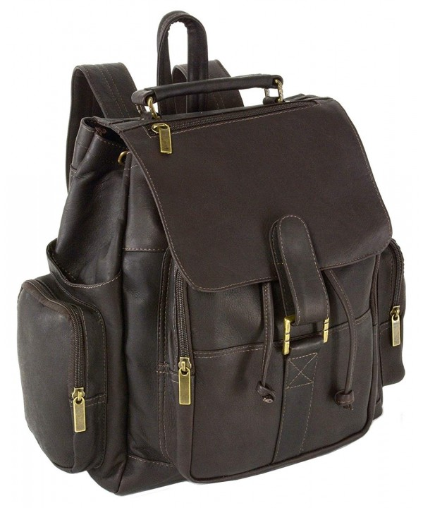 Hammer Anvil Leather Backpack Versatile