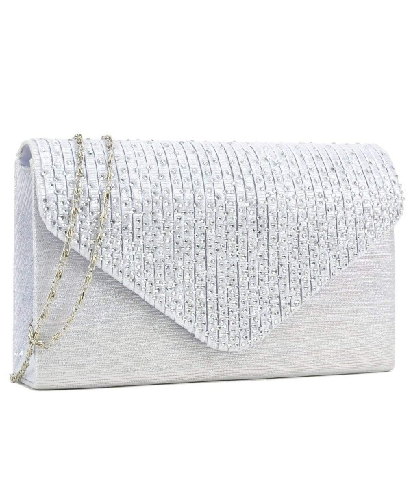 Dasein Frosted Crossbody Handbags Envelope