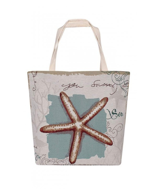 Cotton Canvas Perfect Shopping Starfish