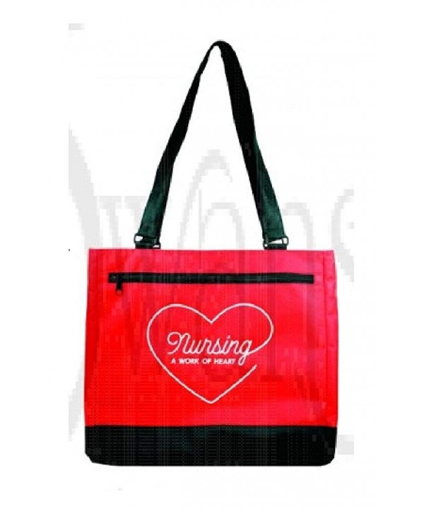 Nursing Heart Canvas Shoulder Handle