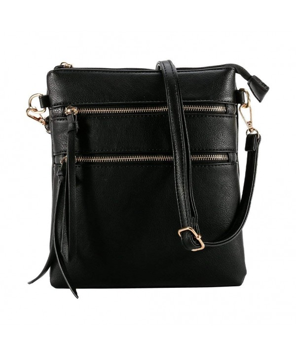 Functional Multi Pocket Crossbody Lightweight