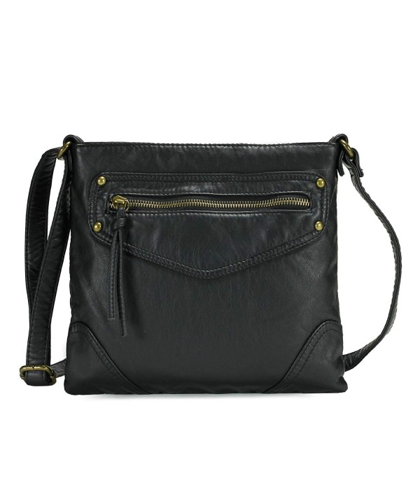 Scarleton Trendy Zippers Crossbody H199501
