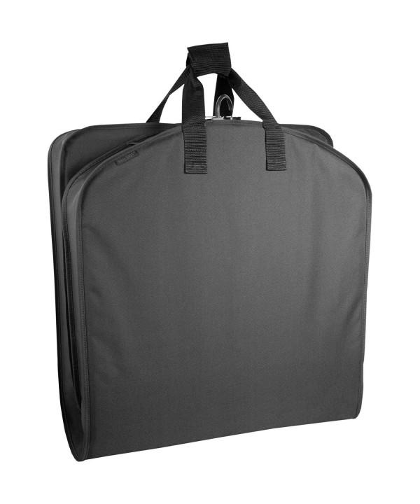 WallyBags Luggage Garment Bag Black