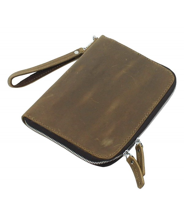 Cowhide Mini iPad Business LH10 Vintage Distress