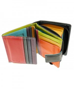 Ladies Versatile Leather Wallet Section