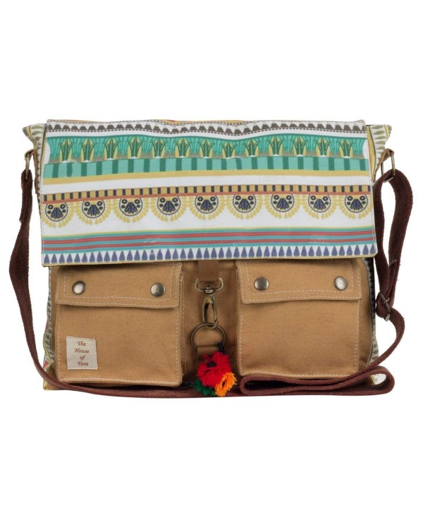 House tara Printed Messenger Multicolour