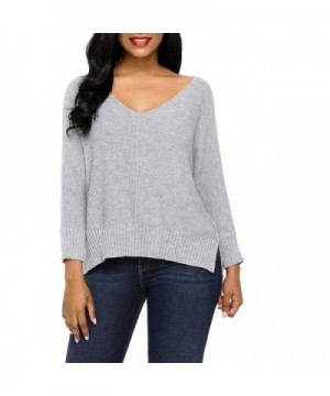 GALLERY Oversized High low Pullover Sweaters