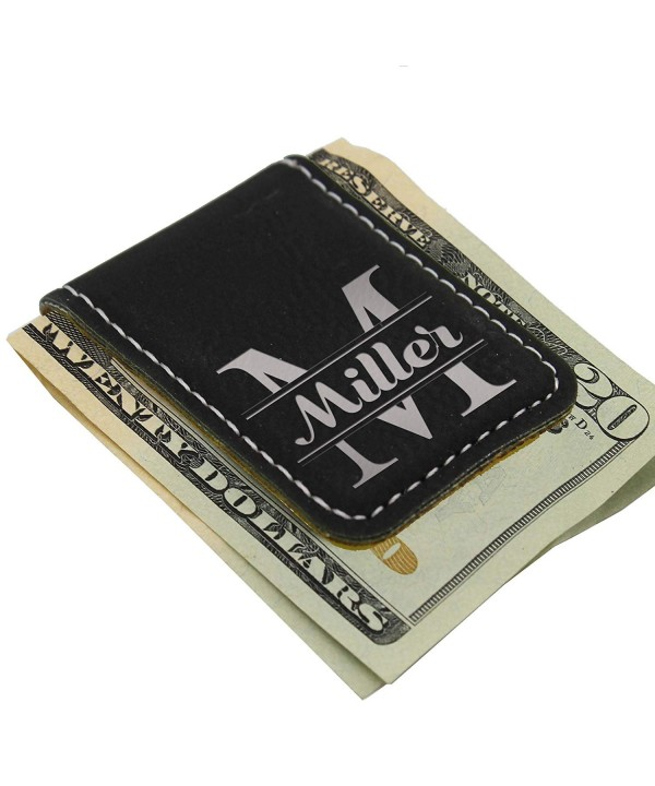 Personalized Magnetic Money Clip Monogrammed