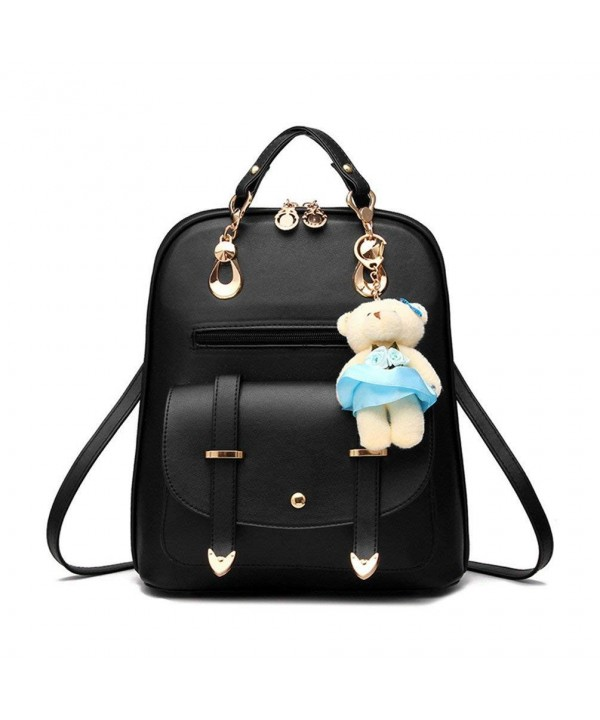 Hynbase Fashion Leather Backpack Shoulder