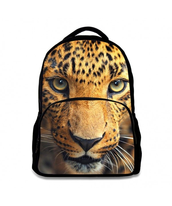 Childrens Age6 16 Polyester Backpack Cheetah