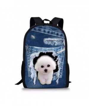 Coloranimal Lightweight Teenager Daypack Backpack